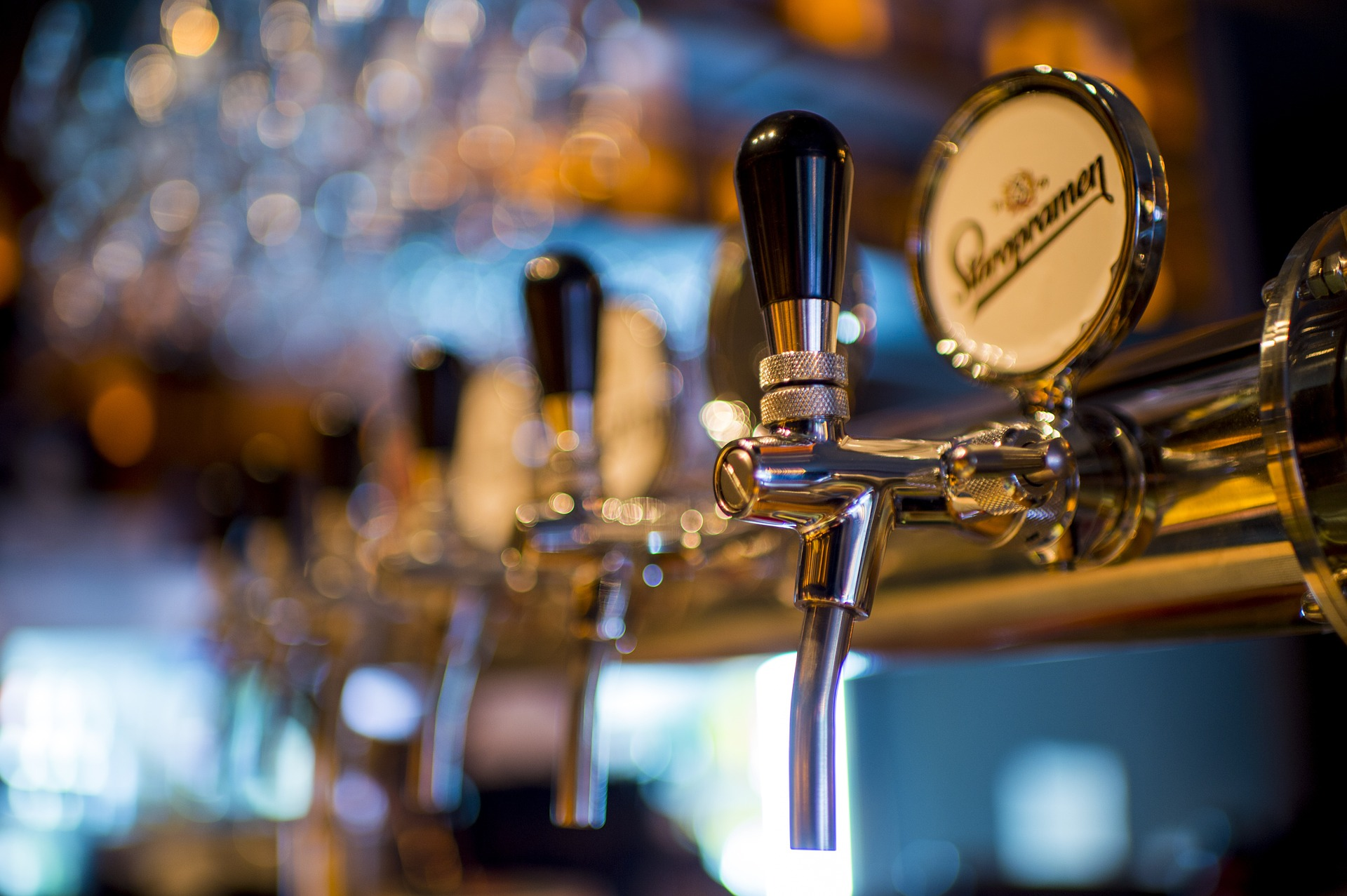 Chambers has a large selection of beers and brews with bargain Happy Hour prices.